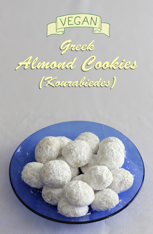 These #vegan Greek cookies somehow satisfy my sweet tooth without being overly sweet.
