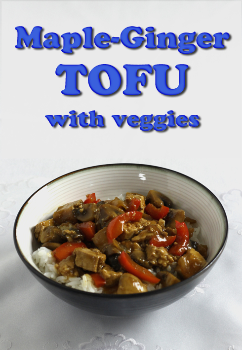 I'm really happy with the way this #vegan tofu dish turned out.  Nice balance of sweet, sour and spicy.