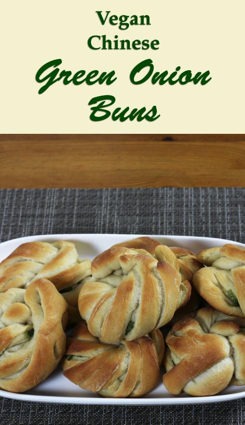 Recipe for vegan Chinese green onion buns